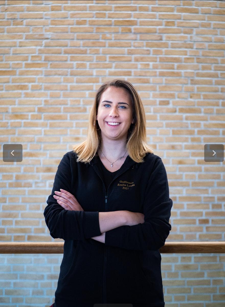 Linda Carlstad ordförande - Emilia Lundö