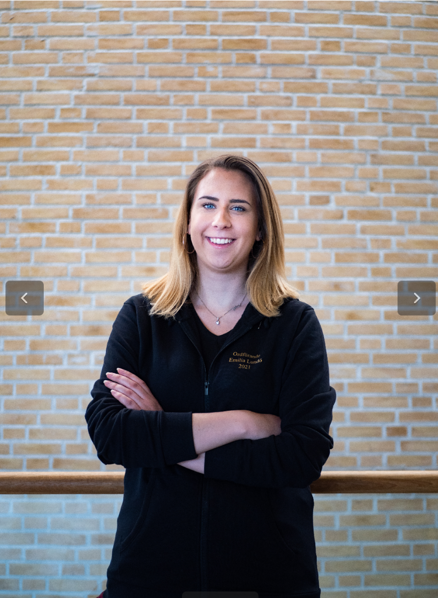 Linda Carlstad pr-ansvarig - Emilia Lundö